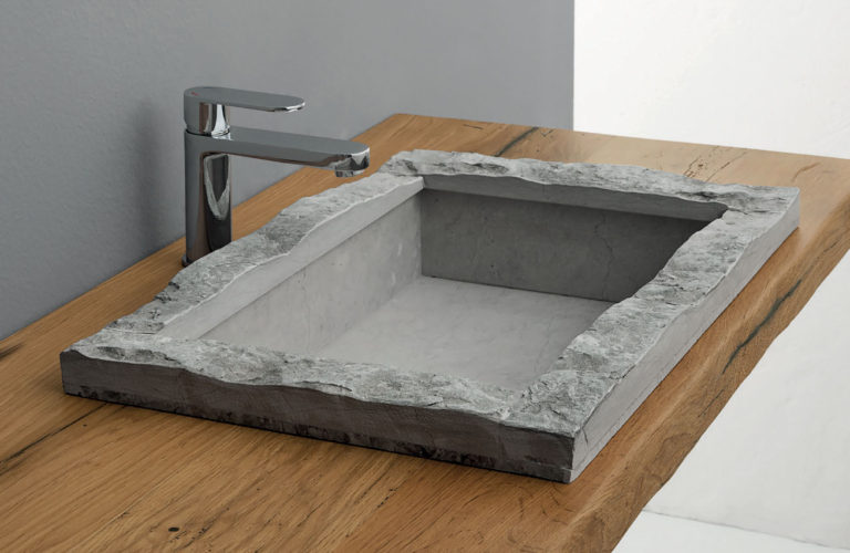 Lavabo Pietra Spaccata - loetrà